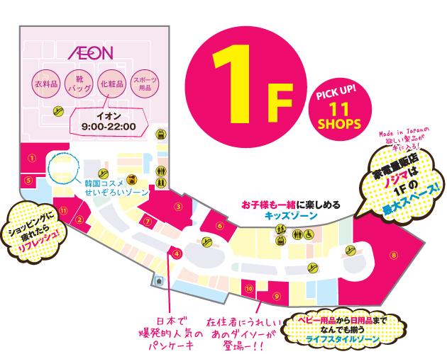 AEON_1F_Map