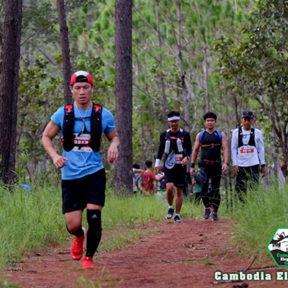 カンボジア初の山間部でのトレイルランニング大会が開催