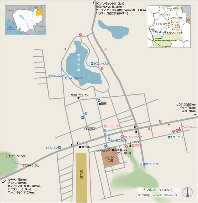 ラタナキリ州地図