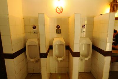 山麓の駐車場/トイレ エリア