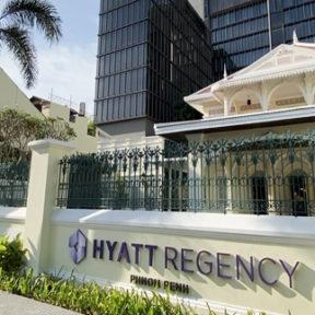 【プノンペン新スポット】高級ホテル「ハイアット・リージェンシー・プノンペン」開業!